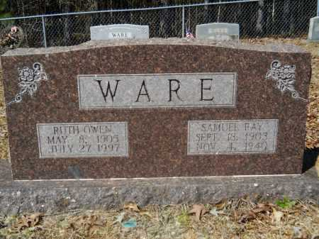 WARE, SAMUEL RAY - Columbia County, Arkansas | SAMUEL RAY WARE - Arkansas Gravestone Photos