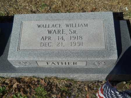 WARE, SR, WALLACE WILLIAM - Columbia County, Arkansas | WALLACE WILLIAM WARE, SR - Arkansas Gravestone Photos
