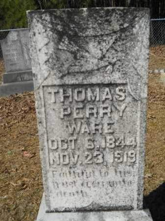 WARE, THOMAS PERRY - Columbia County, Arkansas | THOMAS PERRY WARE - Arkansas Gravestone Photos