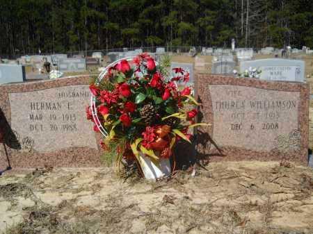 WILLIAMSON WARE, THURLA - Columbia County, Arkansas | THURLA WILLIAMSON WARE - Arkansas Gravestone Photos