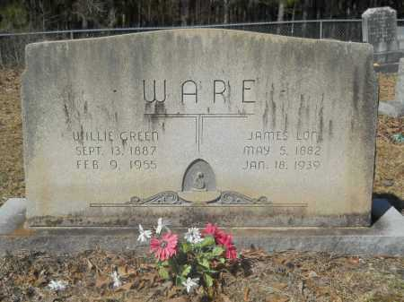 GREEN WARE, WILLIE - Columbia County, Arkansas | WILLIE GREEN WARE - Arkansas Gravestone Photos