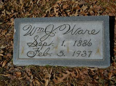 WARE, WILLIAM J - Columbia County, Arkansas | WILLIAM J WARE - Arkansas Gravestone Photos