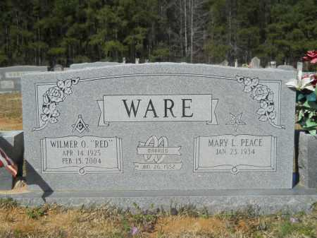 """WARE, WILMER O """"RED"""" - Columbia County, Arkansas 