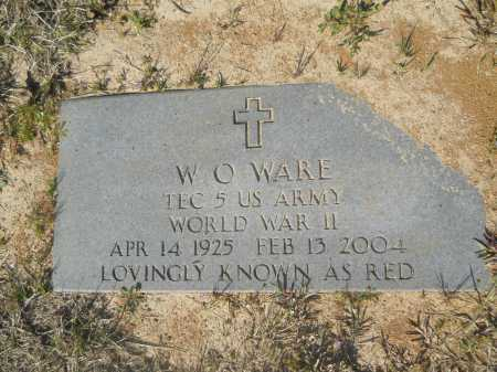 WARE (VETERAN WWII), WILMER O - Columbia County, Arkansas | WILMER O WARE (VETERAN WWII) - Arkansas Gravestone Photos