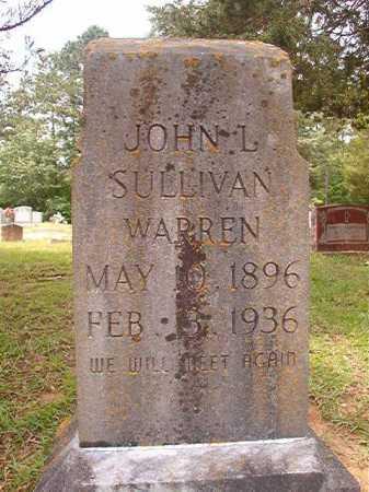 WARREN, JOHN L SULLIVAN - Columbia County, Arkansas | JOHN L SULLIVAN WARREN - Arkansas Gravestone Photos