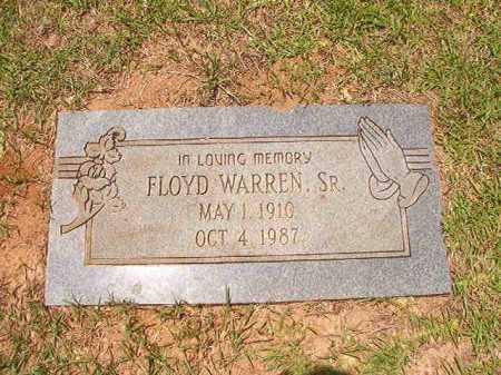 WARREN, SR, FLOYD - Columbia County, Arkansas | FLOYD WARREN, SR - Arkansas Gravestone Photos