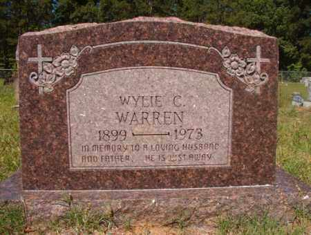 WARREN, WYLIE C - Columbia County, Arkansas | WYLIE C WARREN - Arkansas Gravestone Photos