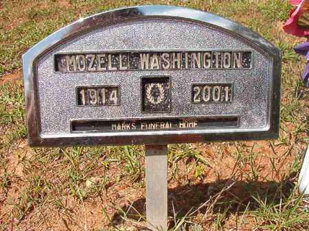 WASHINGTON, MOZELL - Columbia County, Arkansas | MOZELL WASHINGTON - Arkansas Gravestone Photos