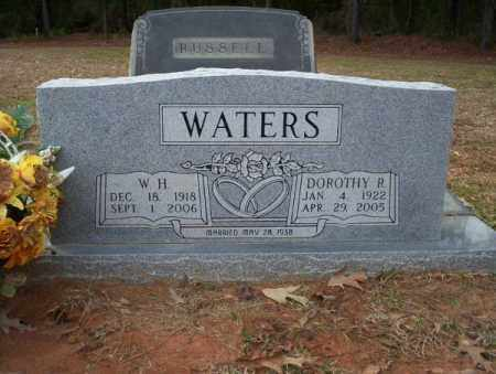 WATERS, DOROTHY R - Columbia County, Arkansas | DOROTHY R WATERS - Arkansas Gravestone Photos