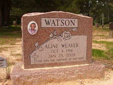 WEAVER WATSON, ALINE - Columbia County, Arkansas | ALINE WEAVER WATSON - Arkansas Gravestone Photos