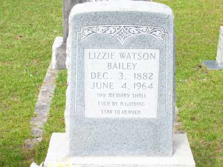 "WATSON BAILEY, ELIZABETH C ""LIZZIE"" - Columbia County, Arkansas 