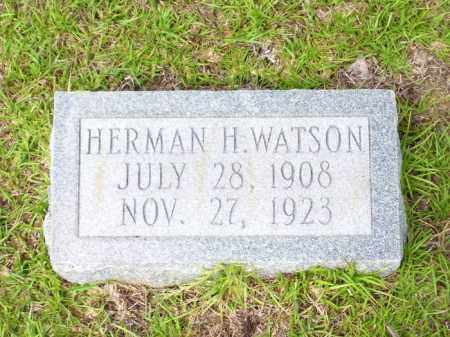 WATSON, HERMAN HILL - Columbia County, Arkansas | HERMAN HILL WATSON - Arkansas Gravestone Photos