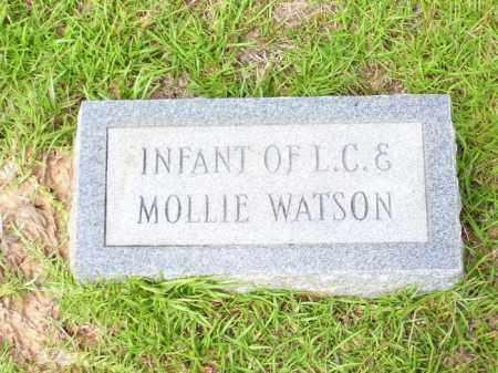 WATSON, INFANT - Columbia County, Arkansas | INFANT WATSON - Arkansas Gravestone Photos