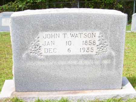 WATSON, JOHN T - Columbia County, Arkansas | JOHN T WATSON - Arkansas Gravestone Photos