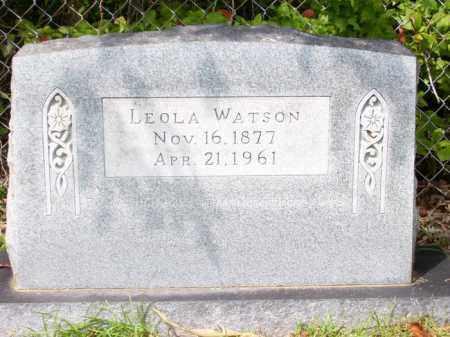WATSON, LEOLA - Columbia County, Arkansas | LEOLA WATSON - Arkansas Gravestone Photos