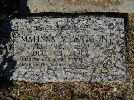 WATSON, MALISSA M - Columbia County, Arkansas | MALISSA M WATSON - Arkansas Gravestone Photos