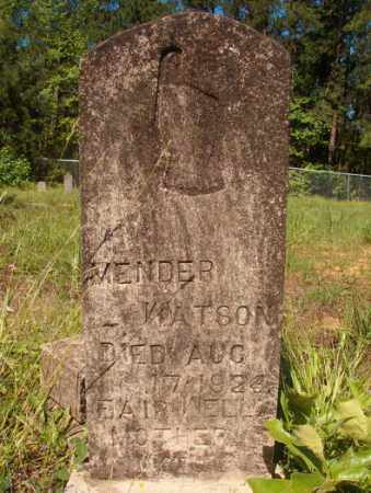 WATSON, MENDER - Columbia County, Arkansas | MENDER WATSON - Arkansas Gravestone Photos