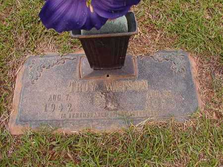 WATSON, TROY - Columbia County, Arkansas | TROY WATSON - Arkansas Gravestone Photos