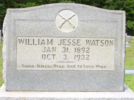 WATSON, WILLIAM JESSE - Columbia County, Arkansas | WILLIAM JESSE WATSON - Arkansas Gravestone Photos