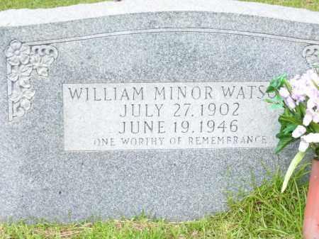 WATSON, WILLIAM MINOR - Columbia County, Arkansas | WILLIAM MINOR WATSON - Arkansas Gravestone Photos