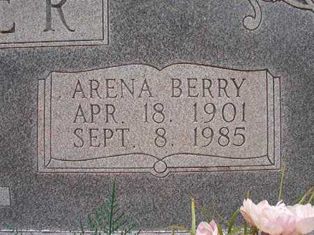 BERRY WEAVER, ARENA - Columbia County, Arkansas | ARENA BERRY WEAVER - Arkansas Gravestone Photos