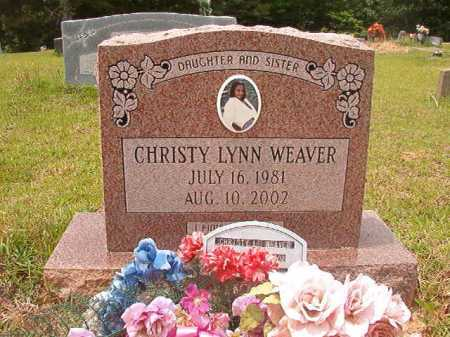 WEAVER, CHRISTY LYNN - Columbia County, Arkansas | CHRISTY LYNN WEAVER - Arkansas Gravestone Photos