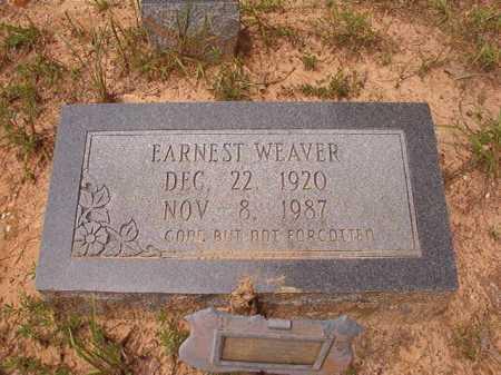 WEAVER, EARNEST - Columbia County, Arkansas   EARNEST WEAVER - Arkansas Gravestone Photos
