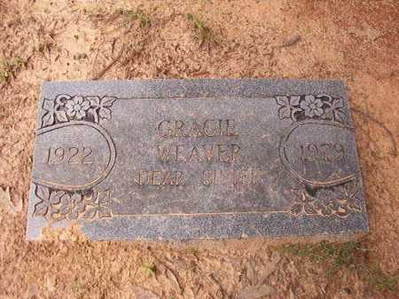 WEAVER, GRACIE - Columbia County, Arkansas | GRACIE WEAVER - Arkansas Gravestone Photos