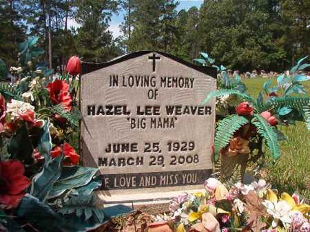 WEAVER, HAZEL LEE - Columbia County, Arkansas | HAZEL LEE WEAVER - Arkansas Gravestone Photos