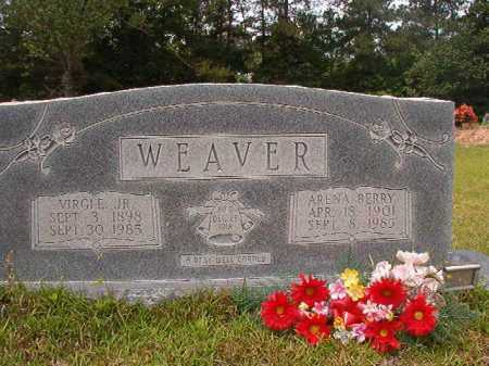 WEAVER, ARENA - Columbia County, Arkansas | ARENA WEAVER - Arkansas Gravestone Photos
