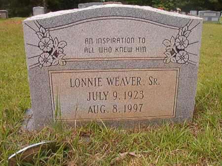 WEAVER, SR, LONNIE - Columbia County, Arkansas | LONNIE WEAVER, SR - Arkansas Gravestone Photos