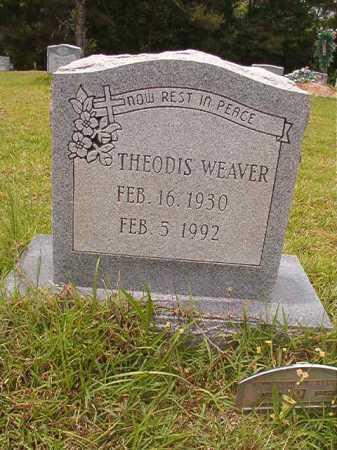 WEAVER, THEODIS - Columbia County, Arkansas | THEODIS WEAVER - Arkansas Gravestone Photos