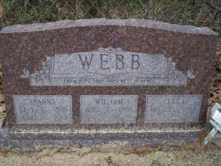 WEBB, LEANNA - Columbia County, Arkansas | LEANNA WEBB - Arkansas Gravestone Photos