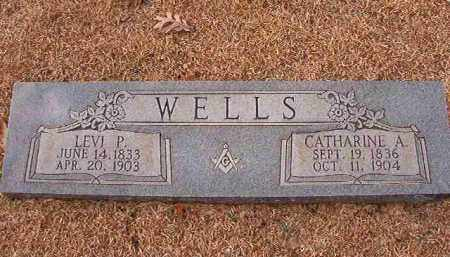WELLS, CATHARINE A - Columbia County, Arkansas | CATHARINE A WELLS - Arkansas Gravestone Photos