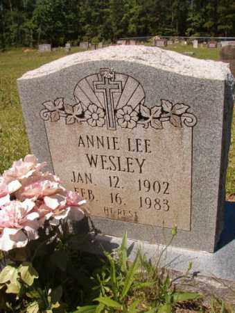 WESLEY, ANNIE LEE - Columbia County, Arkansas | ANNIE LEE WESLEY - Arkansas Gravestone Photos