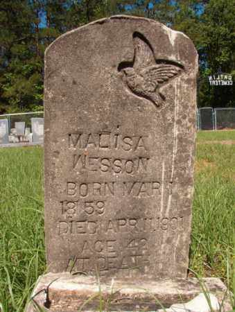 WESSON, MALISA - Columbia County, Arkansas | MALISA WESSON - Arkansas Gravestone Photos