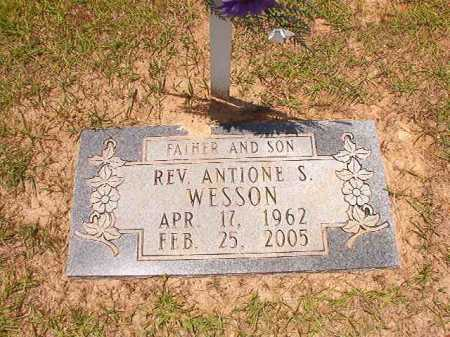 WESSON, REV, ANTIONE S - Columbia County, Arkansas | ANTIONE S WESSON, REV - Arkansas Gravestone Photos