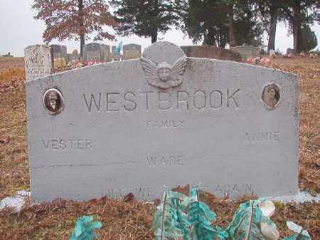 WESTBROOK, VESTER - Columbia County, Arkansas | VESTER WESTBROOK - Arkansas Gravestone Photos