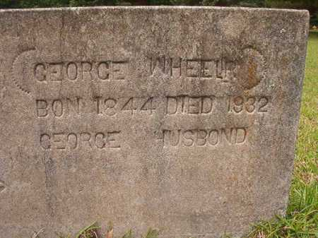 WHEELER, GEORGE - Columbia County, Arkansas | GEORGE WHEELER - Arkansas Gravestone Photos