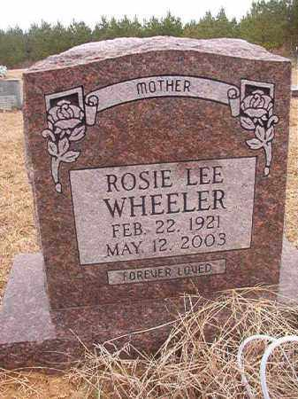 WHEELER, ROSIE LEE - Columbia County, Arkansas | ROSIE LEE WHEELER - Arkansas Gravestone Photos