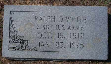 WHITE  (VETERAN), RALPH O - Columbia County, Arkansas | RALPH O WHITE  (VETERAN) - Arkansas Gravestone Photos
