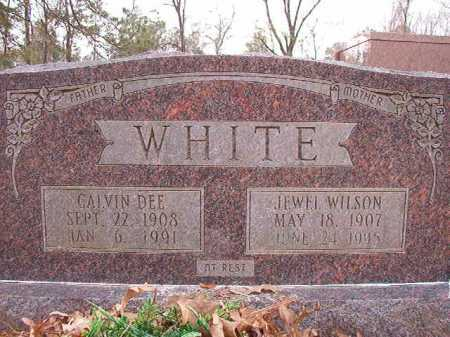 WILSON WHITE, JEWEL - Columbia County, Arkansas | JEWEL WILSON WHITE - Arkansas Gravestone Photos