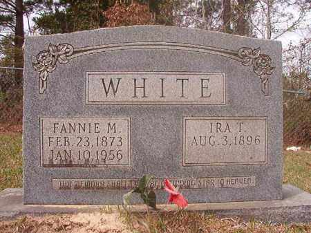 WHITE, IRA T - Columbia County, Arkansas | IRA T WHITE - Arkansas Gravestone Photos