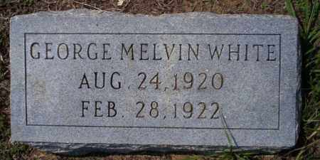 WHITE, GEORGE MELVIN - Columbia County, Arkansas | GEORGE MELVIN WHITE - Arkansas Gravestone Photos