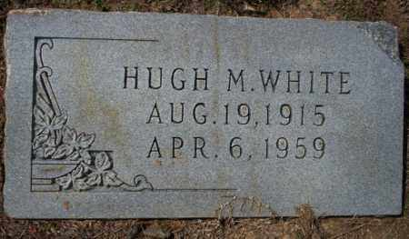 WHITE, HUGH M - Columbia County, Arkansas | HUGH M WHITE - Arkansas Gravestone Photos