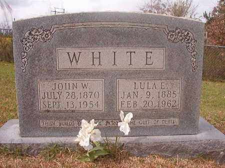 WHITE, JOHN W - Columbia County, Arkansas | JOHN W WHITE - Arkansas Gravestone Photos