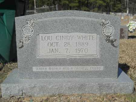 WHITE, LOU CINDY - Columbia County, Arkansas | LOU CINDY WHITE - Arkansas Gravestone Photos