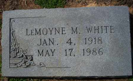 WHITE, LEMOYNE M - Columbia County, Arkansas | LEMOYNE M WHITE - Arkansas Gravestone Photos