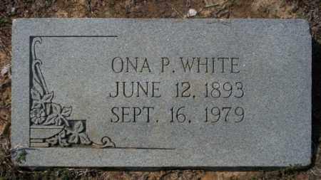 WHITE, ONA P - Columbia County, Arkansas | ONA P WHITE - Arkansas Gravestone Photos