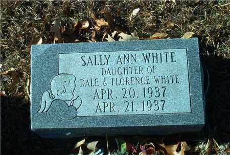 WHITE, SALLY ANN - Columbia County, Arkansas | SALLY ANN WHITE - Arkansas Gravestone Photos
